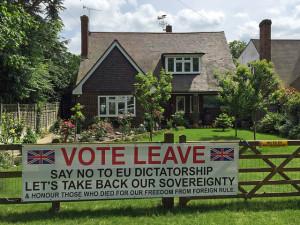 British people who were disenchanted by the EU. https://flic.kr/p/JkVXEc
