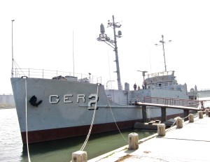 The USS Pueblo, a spy ship captured by North Korea in 1968 and kept on display as a museum https://flic.kr/p/2yHrAM