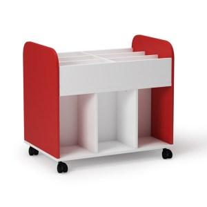 carro librero mobiliario escolar
