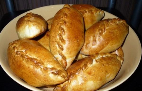Пирожки с картошкой и капустой в духовке - пошаговый ...