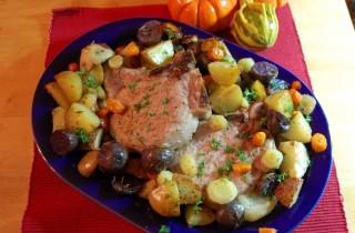 Жаркое из свиных отбивных с картофелем - пошаговый рецепт ...