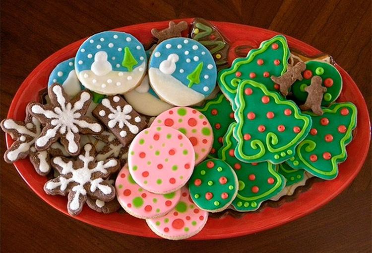 Жаңа жылдық печенье