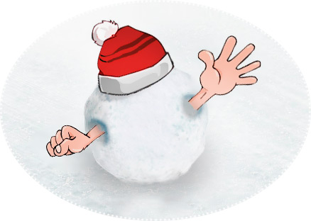 Snowballs - Nowy Rok konkurencja ze świata Pozytywnego.ru