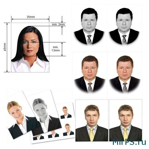 Ретушь фотографии 3x4 на паспорт в фотошопе | Кисти ...
