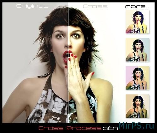 Праздничная обработка портрета в фотошопе онлайн   Кисти ...