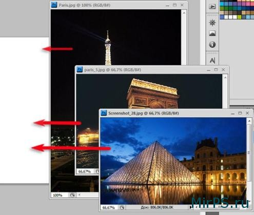 Как соединить две фотографии в одну в фотошопе?   Кисти ...