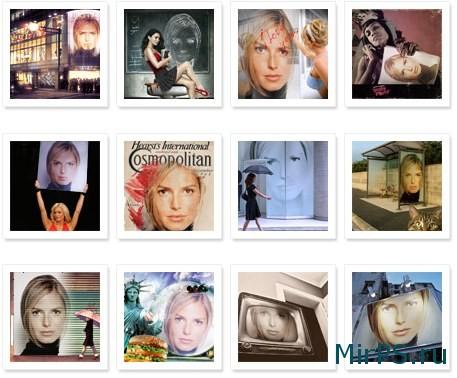 Фотоэффекты онлайн бесплатно   Кисти, шаблоны, уроки и ...