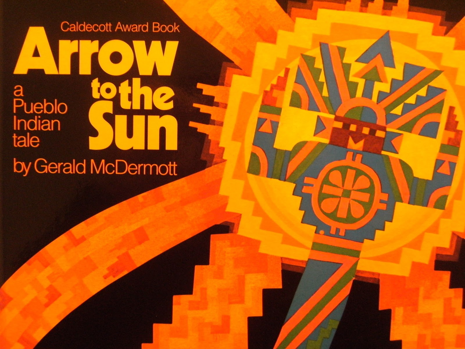 Caldecott Book Arrow To The Sun