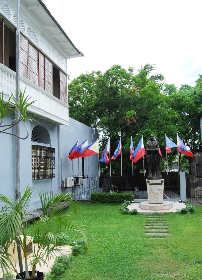 The Garden of Marcela Mariño de Agoncillo's house