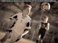H&W Youth vs Salisbury