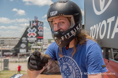 Austin, TX - June 3, 2015 - Circuit of The Americas: XXXXX during practice for BMX Vert at X Games Austin 2015. (Photo by Nick Guise-Smith/ ESPN Images)