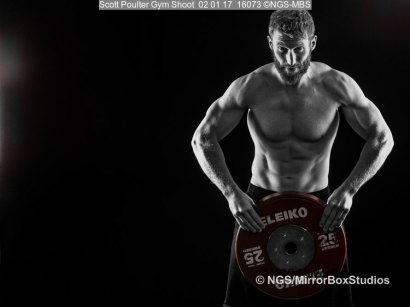 Scott Poulter Gym Shoot
