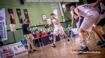 Solent Kestrels NBL Division 1 - 5 February, 2017 - Fleming Park Leisure Cent. : Sam Van-Oostrum (14) during match against Bradford Dragons (Photo by NGS/MirrorBoxStudios)