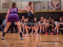 WNBL Division 1 - 18 February, 2017 - St Marys Leisure Cent. : Megan Jenkins (8) during match between Solent Kestrels Women and Charnwood CR (Photo by NGS/MirrorBoxStudios)