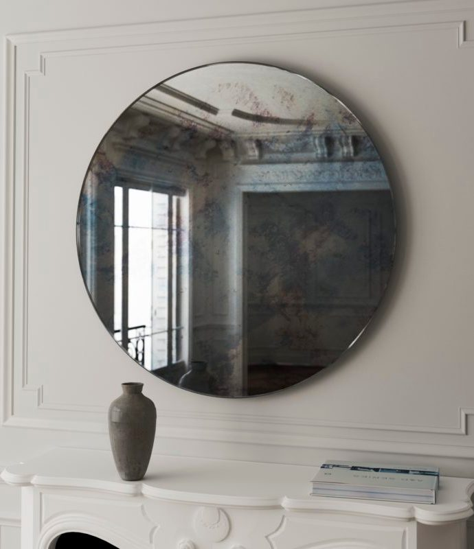 2019's Best Frameless Antiqued Mirrors