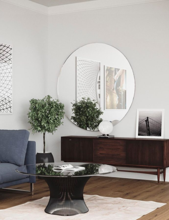 Find the Perfect Large Round Mirror