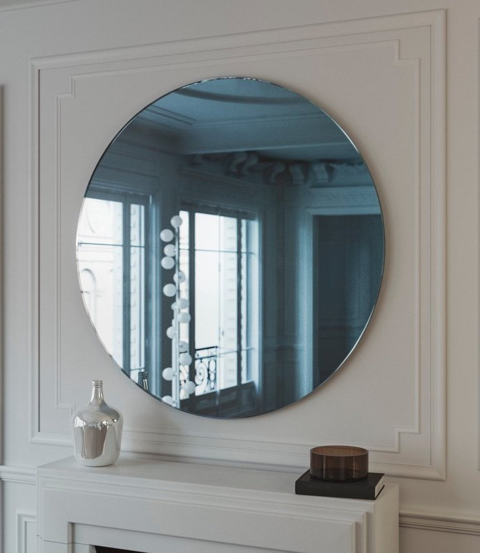 Large Round Wall Mirrors [November 2019]