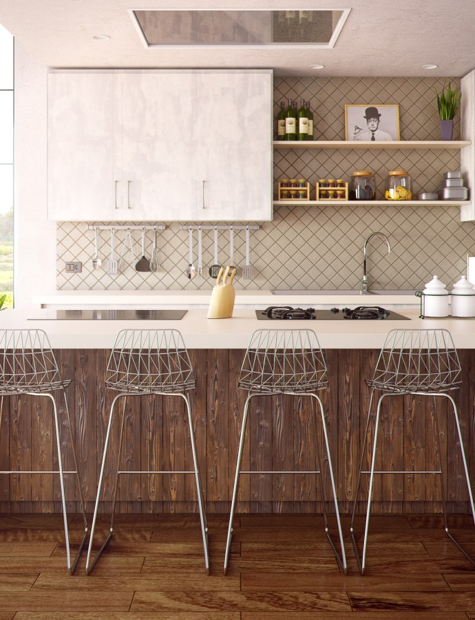 Herringbone Tile Backsplash [March 2021]