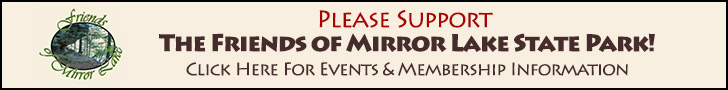 Support Friends of Mirror Lake State Park