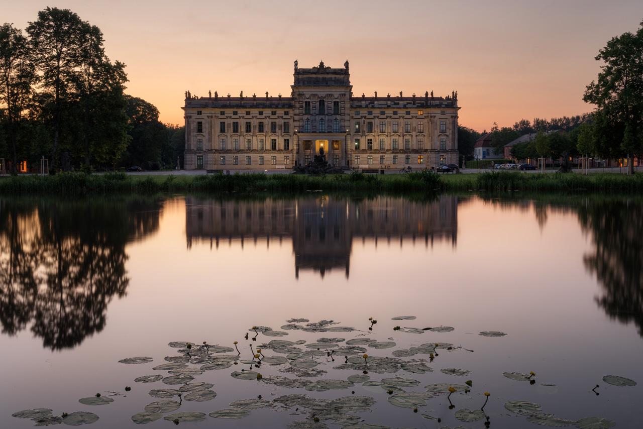 Foto vom Schloss in Ludwigslust.