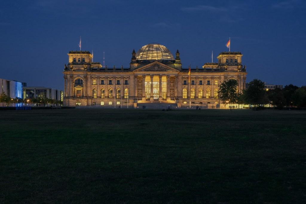 Der Reichstag (Bundestag) in Berlin.