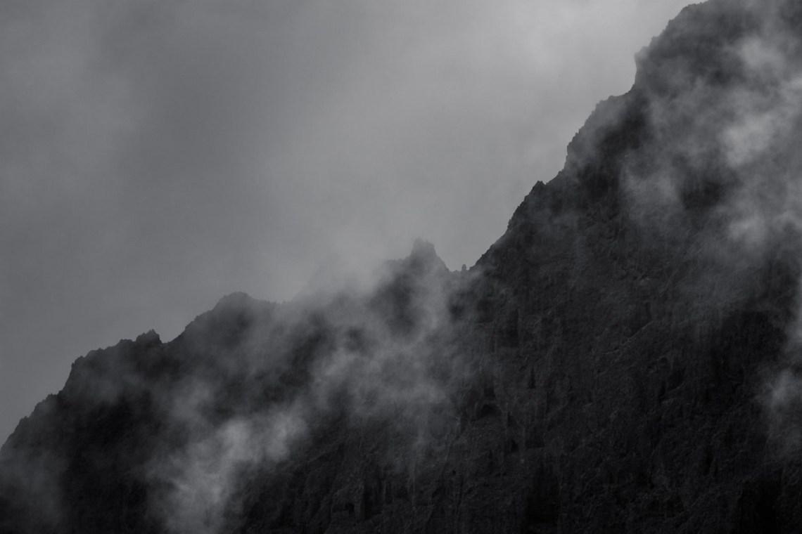 Wolken im Anaga-Gebirge auf Teneriffa