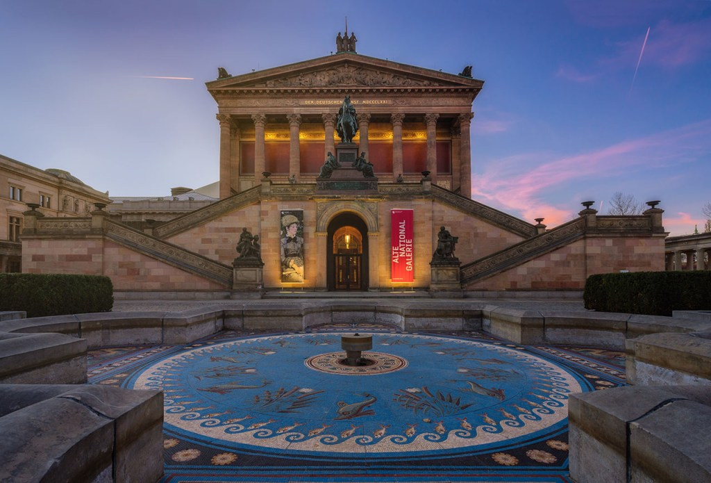 Die Alte Nationalgalerie in Berlin