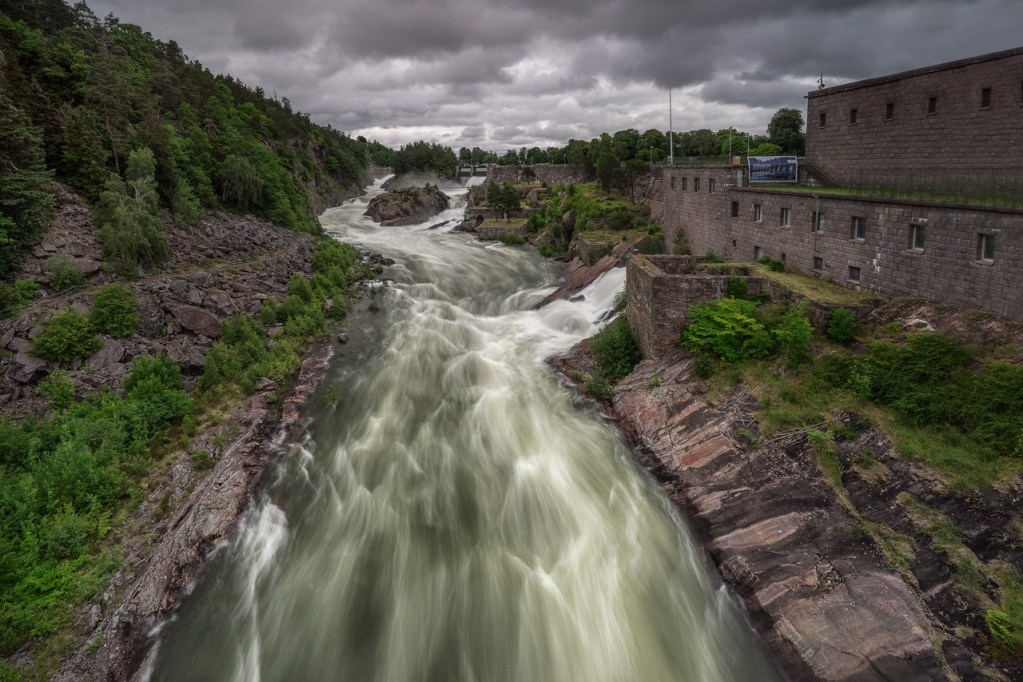 Trollhättan in Schweden