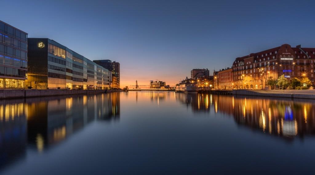 Kanäle in Malmö