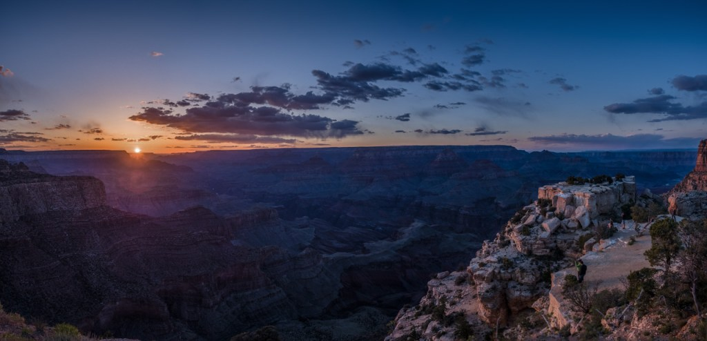 Panorama am Grand Canyon