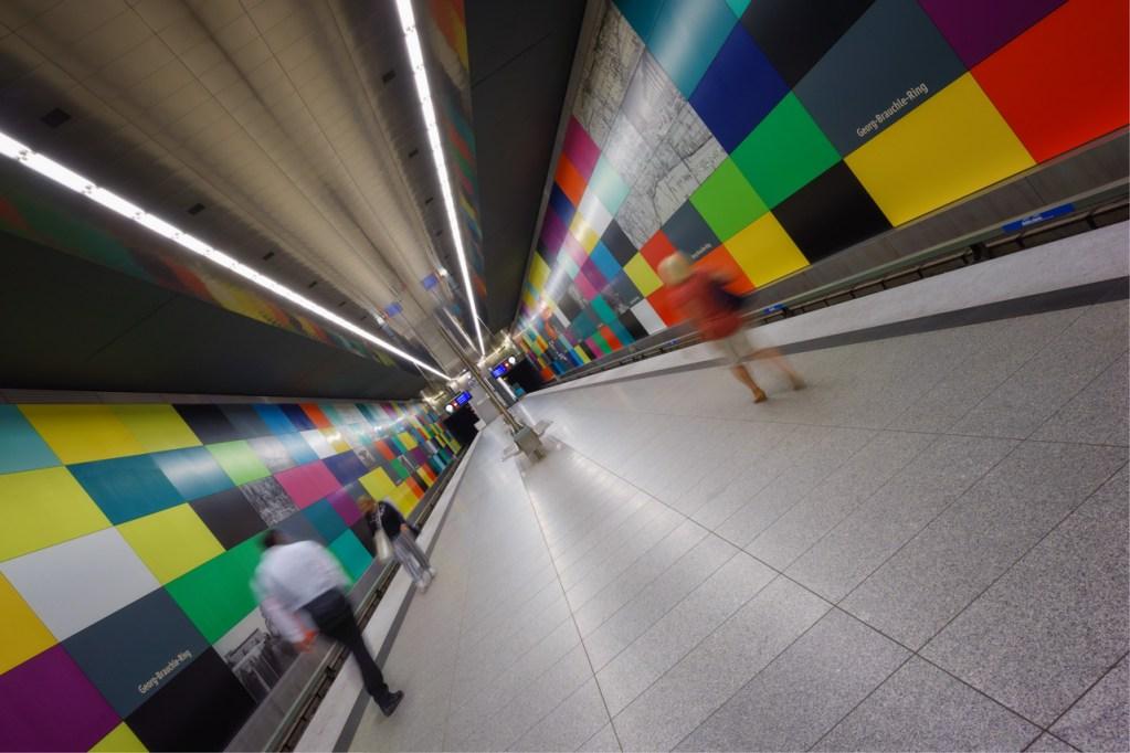 U-Bahnstation in München