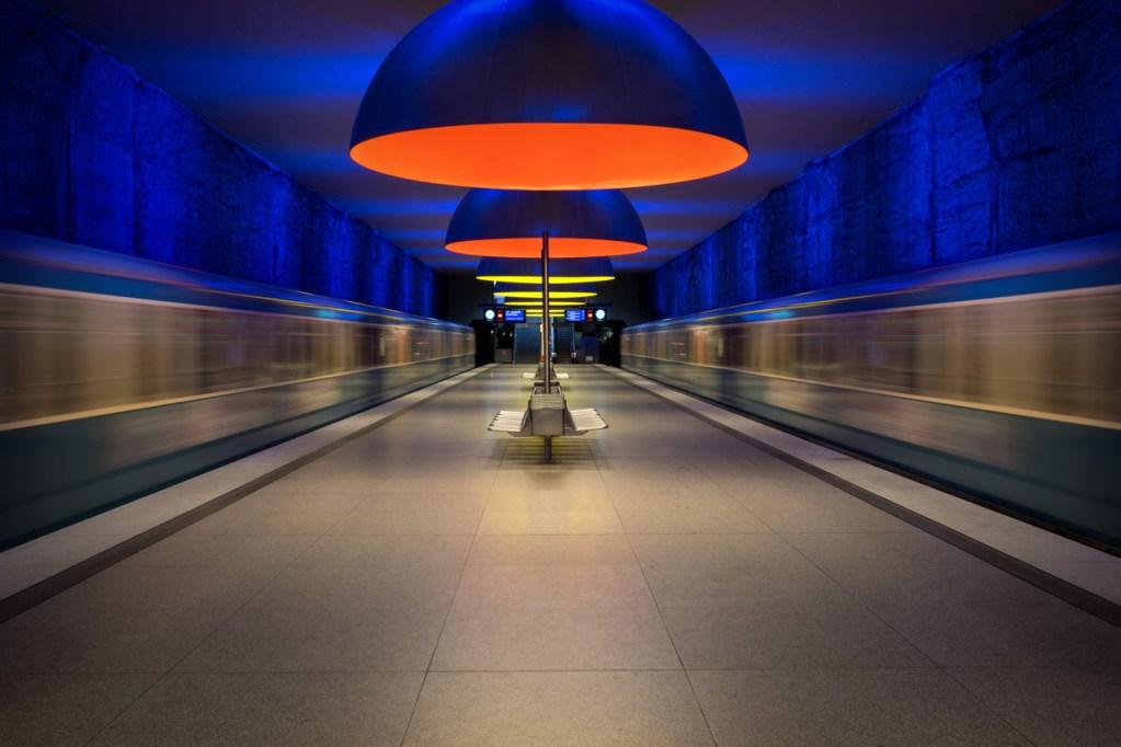 U-Bahnhof Westfriedhof in München