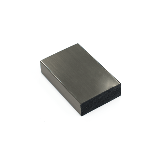polished chrome chip sample
