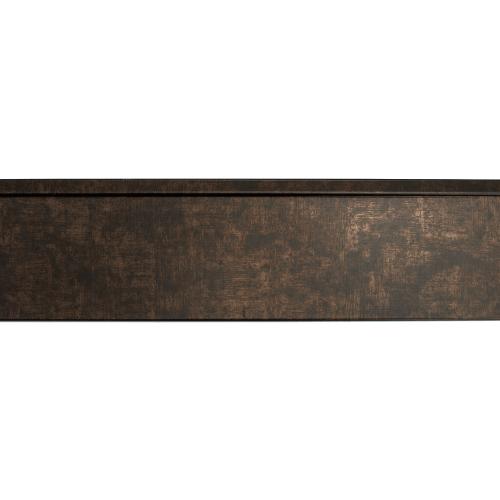 rubbed bronze mirror frame length