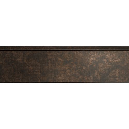 rubbed bronze mirror frame length