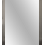 5002 Polished Chrome Mirror Frame