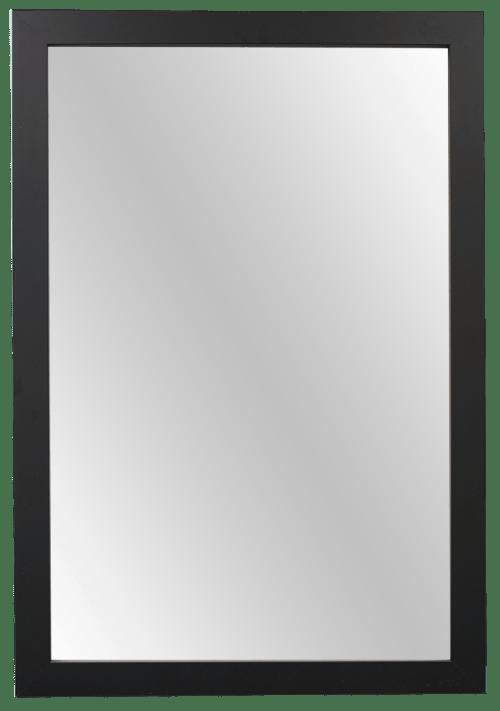 satin black mirror frame kit