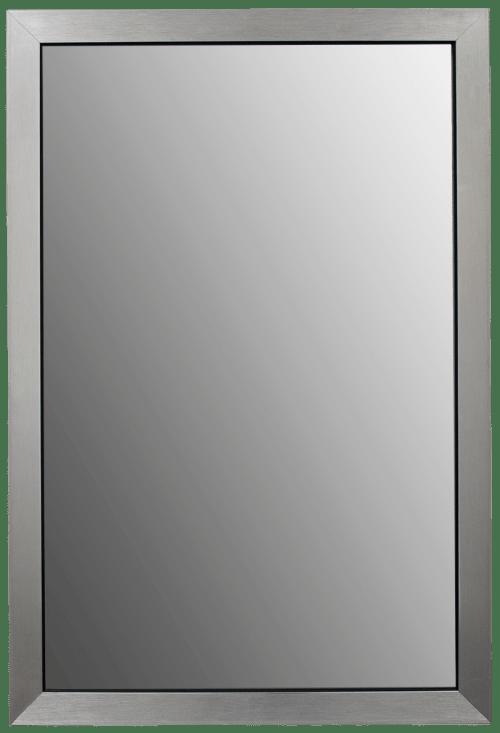 Modern silver Bathroom Mirror Frame