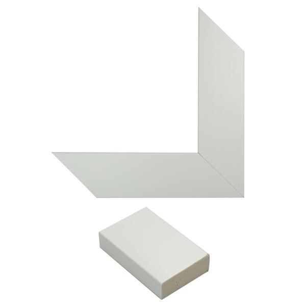 white cotton mirror frame samples