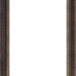 1600 Bronze Mirror Frame