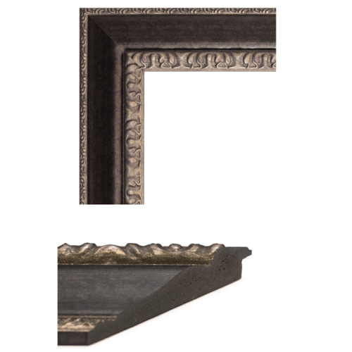 1654 Bronze Mirror Frame Sample