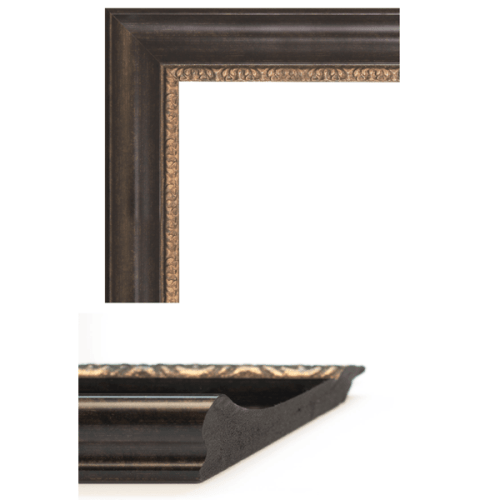 1661  Bronzed Mirror Frame Sample
