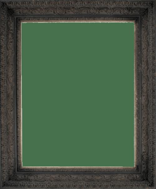Aged Black Mirror Frame