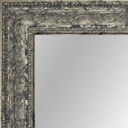 2438 Belgian Silver Mirror Frame