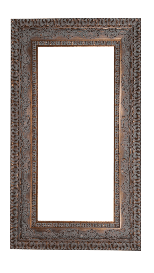 Dark Gold Mirror Frame