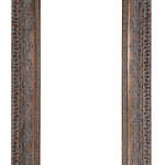 2439 Dark Gold Mirror Frame
