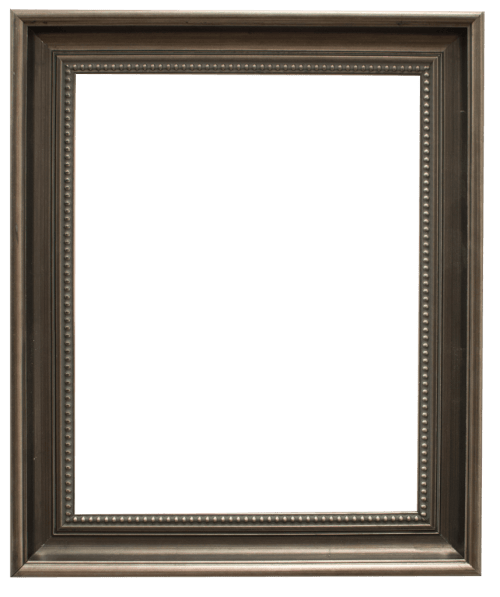 dark pewter mirror frame