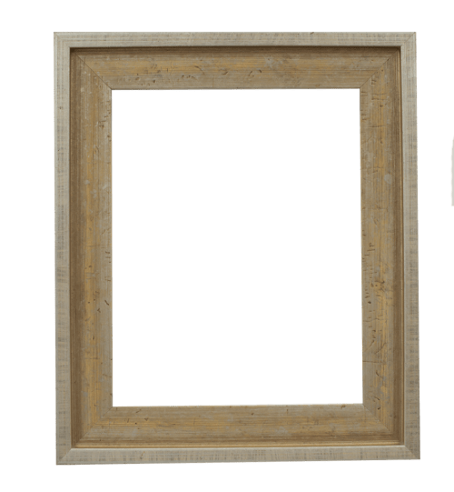 Flat Champagne Mirror Frame