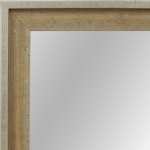 4021 Flat Champagne Mirror Frame