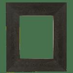 4022 Flat Dark Brown Mirror Frame